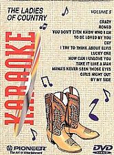 DVD Karaoke - Ladies of Country - V. 5 DVD  NEW