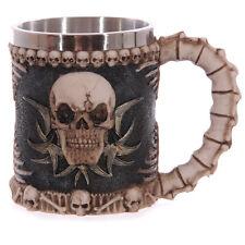 Vintage Skeleton Skull Style Coffee Tea Mug Cup Geek Goth Decorative Cool Cup
