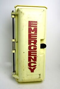 Vintage Industrial Aluminum Telephone Emergency Call Box, Allen Tel Products