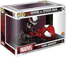 Pop! Comic Moments: Marvel Spider-Man vs. Venom Vinyl Fight Scene Figure