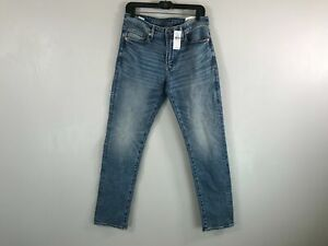 Men's American Eagle Airflex + Slim Straight Jeans -Size 31 W 32 L- Blue