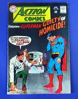 ACTION COMICS #358 COMIC BOOK Superman ~ 1968 DC SILVER AGE  ~ FN
