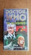 Doctor Who - The Green Death (VHS, 1996, 2-Tape Set) -  NEW and SEALED