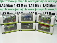 LOT n°12: 6 X 3 inches 1/64 NOREV CLAAS Tracteurs