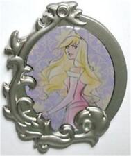 AURORA Sleeping Beauty STYLIZED PRINCESS PORTRAIT Silver FRAME DISNEY PIN NEW