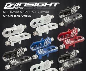 "Insight 3/8""/10mm Bmx Chain Tensioner White Fits GT, Redline, Haro"