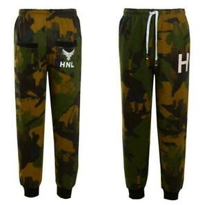 New Men's HNL Fleece Joggers Sweat Pants UK S - 2XL