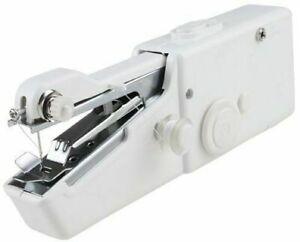 Macchina da cucire portatile mini - elettrica senza fili salva spazio Bianco