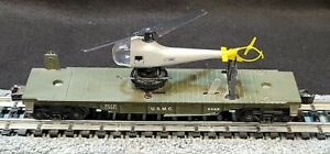 Lionel Trains Rolling Stock #3429 U.S.M.C. Working Launch-able Helicopter (812)