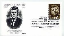 5175 John F. Kennedy, Panda Cachets, pictorial cancel, FDC