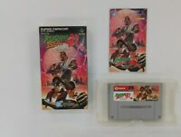 RUSHING BEAT RAN RUN   wuth BOX Nintendo Super Famicom  SFC SNES Japan USED