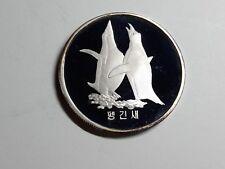 Korea 2007, Penguin 1500 Won, 1oz Silver Proof