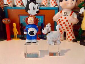 1994 Dennis the Menace Dairy Queen DQ Figurine Margaret Astronaut & Ruff PVC