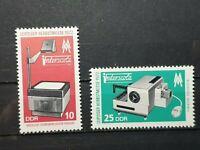 German DDR 1972 Leipzig Autumn Fair. 2 stamp set MNH E1500