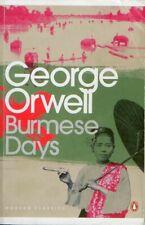 BURMESE DAYS GEORGE ORWELL/PENGUIN CLASSICS 2001/ CLASSICS FICTION PB USED VG