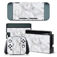 Nintendo Switch White Pearl Console & Joy-Con Controller Decal Vinyl Skin Wrap