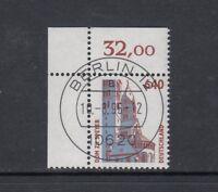 BRD Mi-Nr. 1811 zentrisch gestempelt Berlin EST - Bogenrand / Eckrand / Ecke 1