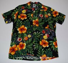 Vintage 1970's Kennington Ltd Billiards Floral Hawaiian button up shirt Original