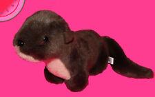 TENNESSEE AQUARIUM Plush BABY RIVER OTTER Brown Stuffed Animal SOUVENIR