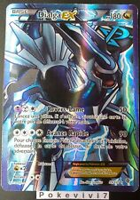 Carte Pokemon DIALGA 99/101 Ultra Rare EX Full Art FA Noir & Blanc FR