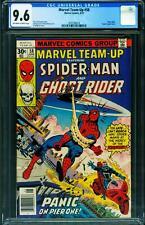 Marvel Team-up #58 CGC 9.6 Spider-Man Ghost Rider comic 1977 2070169014