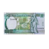 Malta Banknote #55A 10 Liri 5th Series A.P. Galdes Fine