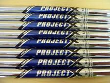 New Rifle Project X 6.5 Flighted 3-PW Iron Shafts .370 Tip Guaranteed Authentic