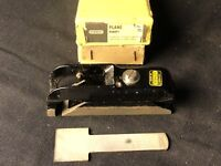 STANLEY RABBET PLANE    MADE IN ENGLAND   ORIGINAL BOX    EXCELLENT CONDITION