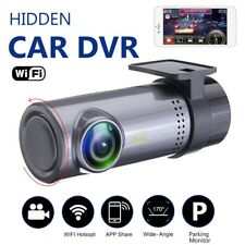 170° Car Hidden Cameras 720P HD Wifi DVR Video Dash Cam Recorder Night Vision