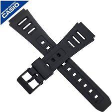 CASIO Genuine Casio Watch Strap Band for W-86 W-71 W71 W86 W 86 71 BLACK