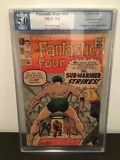 Fantastic Four 14 silver age, Pgx Graded