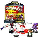 Attacktix Transformers Robot and Jet SKYBLAST, OVERHAUL, DIRTBOSS & DECEPTICLONE