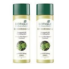 2x Biotique Bio Bhringraj Therapeutic Oil for Falling Hair (Pack of 2 x 120ml)