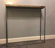 Industrial Vintage Console Table