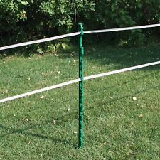 Electric Fencing Plastic Posts Green Rutland Bundle of 40