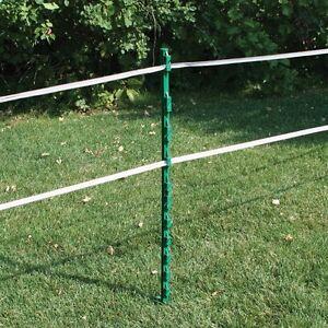 Electric Fencing Plastic Posts Green Rutland Bundle of 40