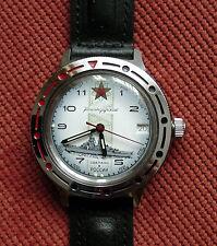 Wrist Automatic Watch VOSTOK KOMANDIRSKIE Battleship Commander 921428