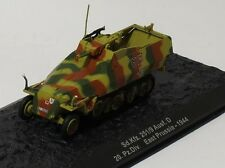 IXO 1/72 MILITAIRE CHAR TANK  Sd.Kfz.251/9 Ausf D ALLEMAND Prussie 1944
