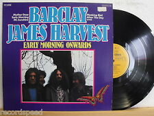 ★★ LP - BARCLAY JAMES HARVEST - Early Morning Onwards - Record in Near Mint