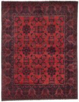 """Hand-knotted Carpet 5'0"""" x 6'5"""" Traditional Vintage Wool Rug"""