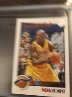 2019-2020 Panini NBA Hoops Shaquille Shaq O'Neal Tribute Card Lakers NBA #283