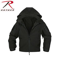 Rothco 9767 Black Special Ops Tactical Soft Shell Jacket NEW - size S