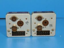 Pair Of Altec 1563A 12Ax7 / 15095 Tube Line Amplifiers