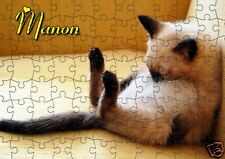 puzzle  CHAT CHATON  REF 60GM - 252 PIECES AVEC OU SANS  PRENOM