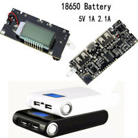 Dual USB 5 V 1A 2.1A Mobile Energienbank 18650 Ladegerät PCB Modul Ladeplatine