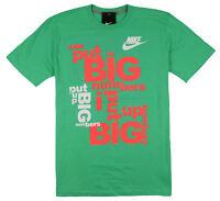 NIKE Big Numbers T-Shirt sz L Large Gamma Green Crimson Mango Max Vapormax React