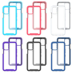 For LG K52/K62/Q52 Phone Case Shockproof Bumper Hard Armor PC Cover