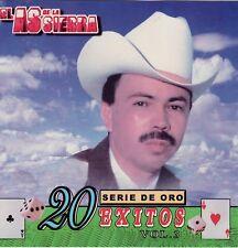 El As De La Sierra Serie De Oro 20 Exitos Vol 3   CD New Sealed