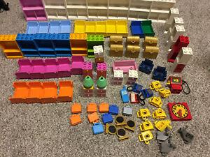 LEGO 10 x MEGAFON BIANCO WHITE MINIFIGURE Utensil megafoni 4349