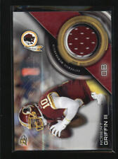 ROBERT GRIFFIN III 2015 BOWMAN GAME USED WORN JERSEY-AF2024